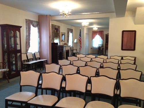 Simcox McIlvaineTOUR OUR FACILITIES   Simcox McIlvaine Funeral Home. Funeral Home Chairs. Home Design Ideas